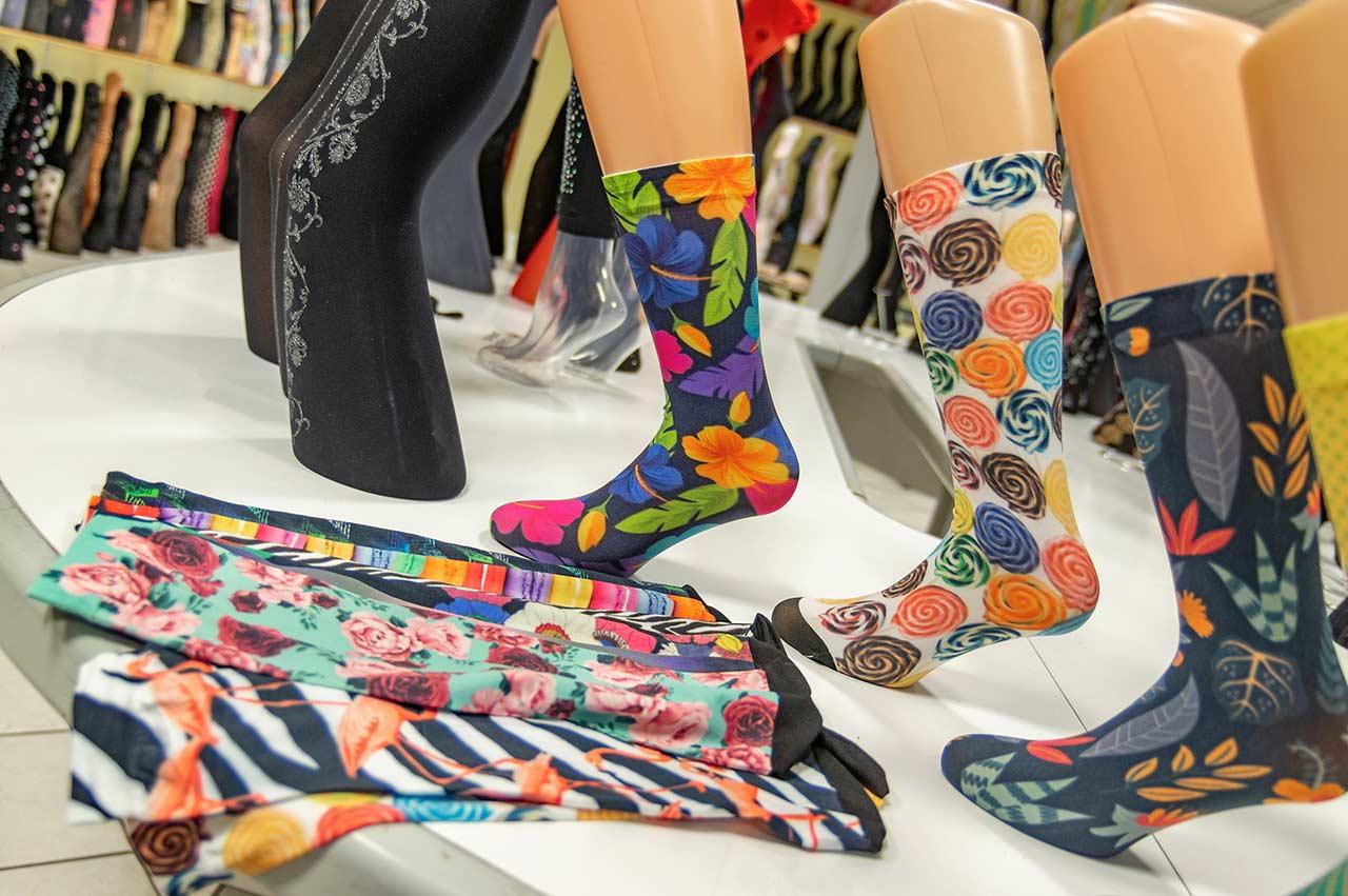 stampa calze personalizzate a 360 gradi